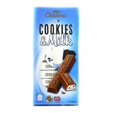 Шоколад Chateau cookies & milk 200г