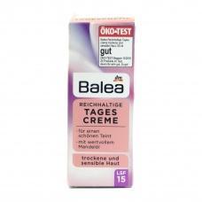 Денний крем Balea tages creme SPF 15 для чутливої шкіри обличчя 50мл