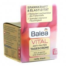 Денний крем Balea Vital SPF 15 проти зморшок 50мл