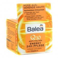 Денний крем Balea Q10 energy проти зморшок 50 мл