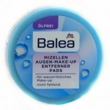 Міцелярні спонжики Balea mizellen augen make up для зняття макіяжу 50шт