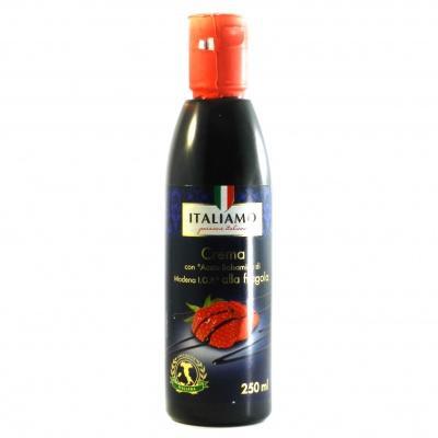 Бальзамічний крем Italiamo all arancia з полуниці 250г