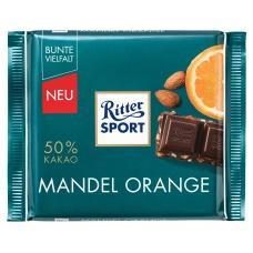 Шоколад Ritter Sport mandel orange 50% какао 100г