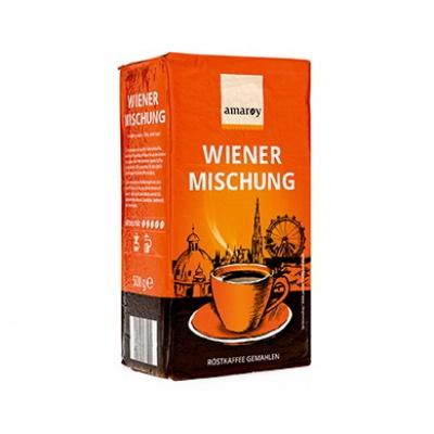 Кава мелена Amaroy wiener mischung 500г