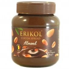 Шоколадна паста Erikol з мигдалем 400г