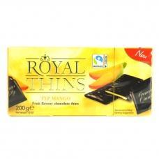Шоколадні цукерки Royal thins з манго 200г