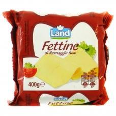 Сир м'який Land di formaggio fuso тостерний 400г