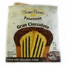 Панеттон Forno Buono gran cioccolato 0,750кг