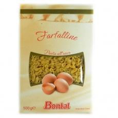 Макарони яєчні Bontal farfalline 0,500гр