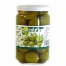 Оливки Sotta in salamoia olive verdi зелені з кісточкою 310г