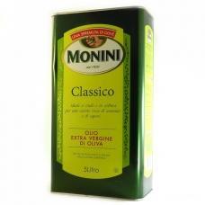 Оливкова олія Monini classico olio extra virgin di oliva ж/б 5 л