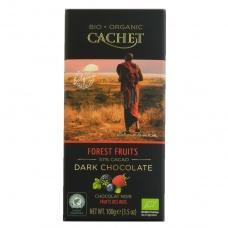 Шоколад Cachet bio organic лісові ягоди 57% какао 100г