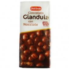 Шоколад Dolciando молочний з горіхами 130г