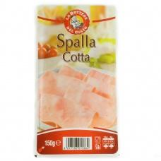 Нарізка La Bottega del gusto spalla cotta шинки 150г