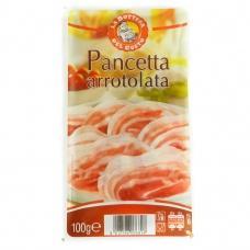 Нарізка La Bottega del gusto pancetta arrotolata бекону 100г