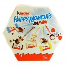 Цукерки Kinder Happy Moments mini mix 162г