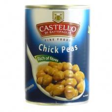 Нут Castello chick peas 400г