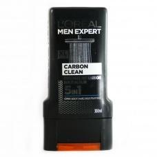 Гель для душу Loreal men exrert XL carbon clean 5in1 300мл
