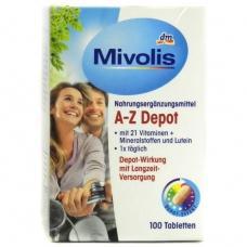 Вітаміни Mivolis A-Z Depot 100шт