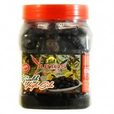 Оливки Ynus чорні вялені 850г
