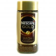 Кава Nescafe Gold gusto ricco розчинна 100г