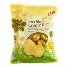 Шоколадні яйця Coldora білий шоколад  з лікером  150г