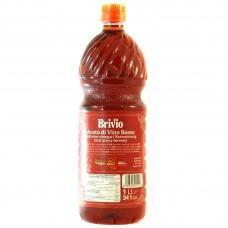 Оцет Brivo винний червоний 1л