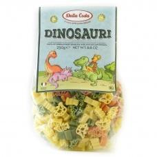 Макарони дитячі Dalla Costa Dinosauri з помідором та шпинатом 250г