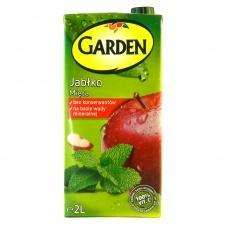 Сік Garden яблуко-мята 2л