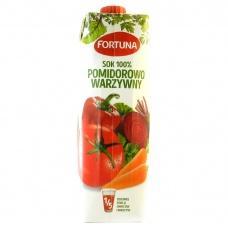 Сік Fortuna овочевий 1л