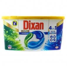 Капсули для прання Dixan classico 25шт