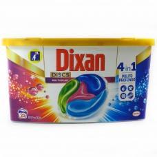 Капсули для прання Dixan для кольорового 25шт