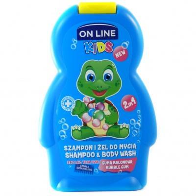 Шампунь дитячий On Line  250мл