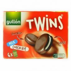 Печево Gullon twins сендвіч в молочному шоколаді 252г