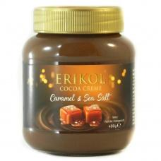 Шоколадна паста Erikol солена карамель 400г