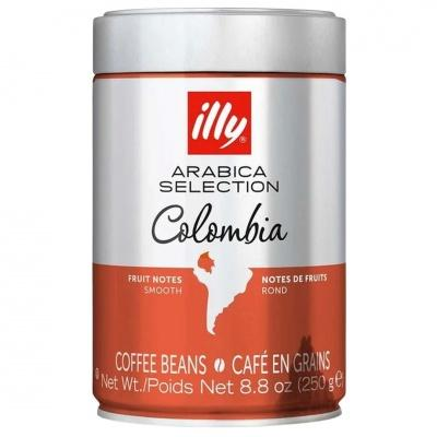 Кава в зеренах Illy Colombia 100% арабіка 250г
