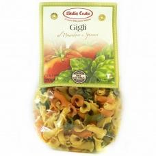 Макарони Dalla Costa Gigli томати та шпинат 250г