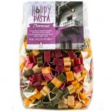 Макарони Happy Pasta Cuoricini шпинат,буряк та куркума  500г