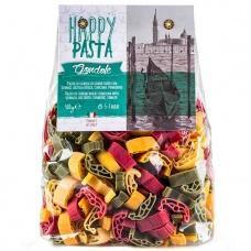 Макарони Happy Pasta Gondole  шпинат,буряк та куркума  500г