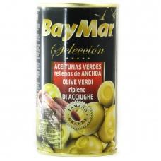 Оливки BayMar фаршировані анчорусом 350г