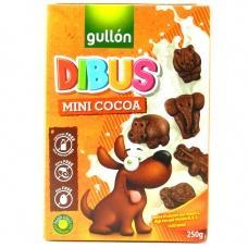 Печиво Gullon Dibus mini шоколадні без лактози 250г