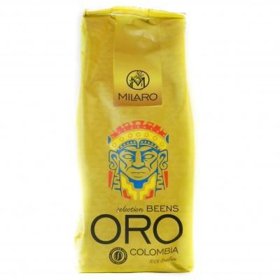 Кава в Milaro ORO colombia 100% арабіка 1кг