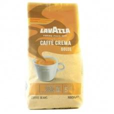 Кава в зернах Lavazza Caffe crema dolce 1кг