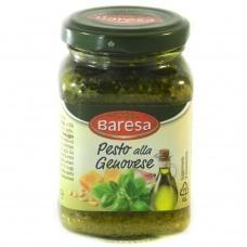 Соус Baresa Pesto alla Genovese з часником 190г