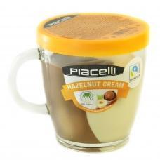 Шоколадна паста Piacelli молочний та білий шоколад 300г