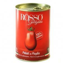 Помідори Rosso Gargana очищені у власному соці 400г