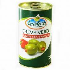 Оливки Varia Gusto фаршировані перцем 350г