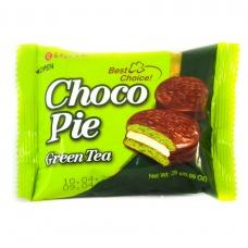 Печиво Choko Pie Green tea 28g