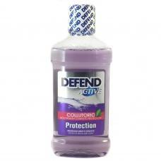 Ополіскувач для ротової порожнини Defend active для захисту зубів  500мл