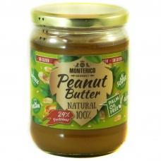 Арахісова паста Momterico Natural 100% без лактози глютену та пальмової олії 500г